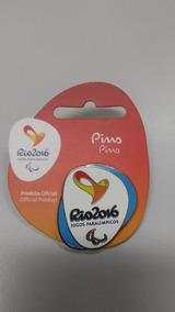 Pin Oficial Logo Paralímpica