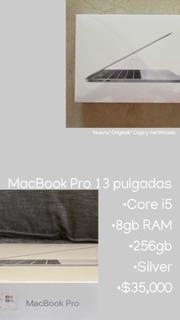Macbook 13pulgadas/ Nueva Y Sellada/ Original