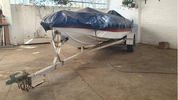 Lancha Pescadora Pacú 450 (montarplast) 20hrs De Uso! 2013