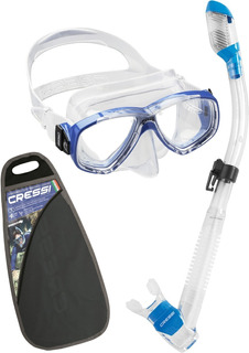 Combo Snorkeling Cressi Perla & Supernova Dry Envio Gratis!!