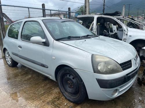 (08) Sucata Renault Clio 2005 1.6  (retirada Peças)