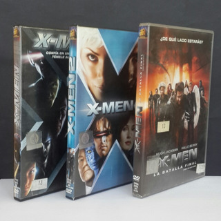 Lote X-men: Trilogia Completa - Dvds Originales - Germanes