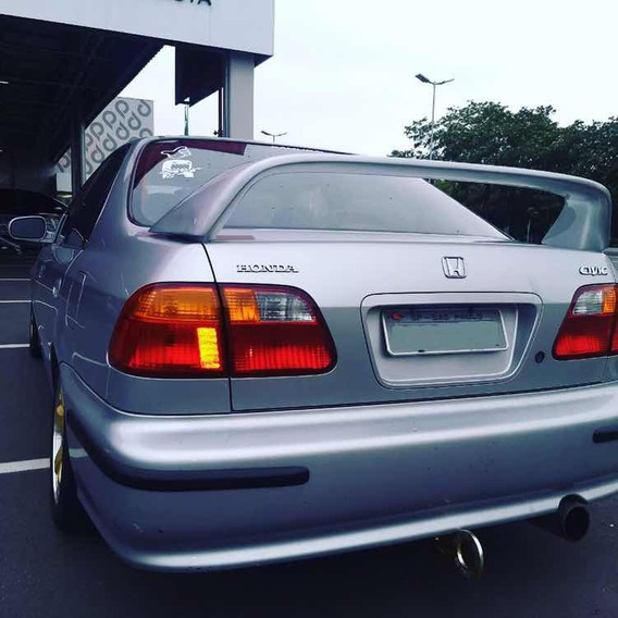 Aerofólio Traseiro Modelo Integra Honda Sedan 96/00