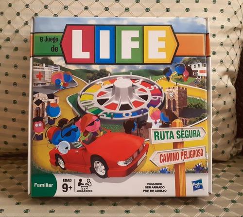 Juego De Mesa Life Juego De La Vida Hasbro  Para La Familia