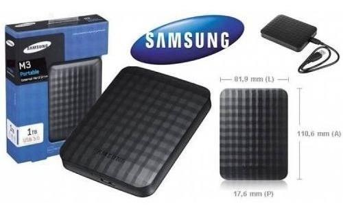 Hd Externo Samsung De Bolso 1000gb - 1tb Usb 3.0 M3 Lacrado