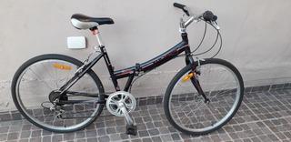 Bicicleta Plegable Aurora Mujer Rodado 26