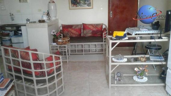 Linda Kitnet À Venda, 38 M² Por R$ 85.000 - Vila Mirim - Praia Grande/sp - Kn0117