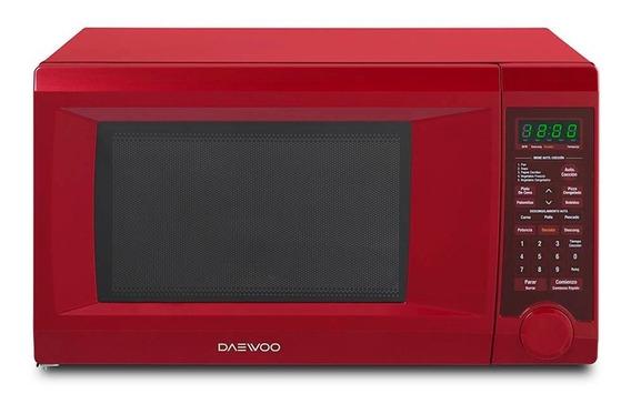Microondas Grill Daewoo KQG-1N0A rojo 31.1L 110V