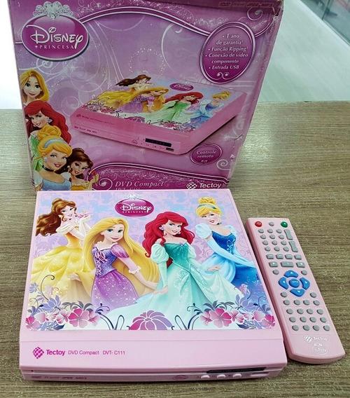 Dvd Compact Princesas Tectoy