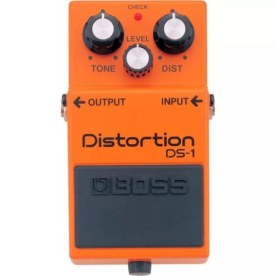 Pedal Guitarra Boss Ds1 Distortion - Loja Autorizada