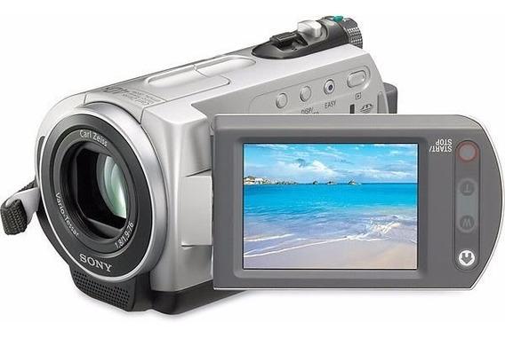 Camera Filmadora Sony Dcr-sr42 Gravaçao Hd 30gb