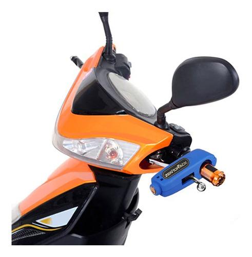 Candado De Moto Seguro Freno Grip Lock Manigueta + Obsequio
