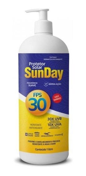 Protetor Solar Bloqueador Fps 30 Nutriex Sunday 01litro