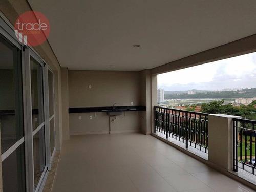 Apartamento Com 4 Dormitórios À Venda, 295 M² Por R$ 2.000.000,00 - Residencial Morro Do Ipê - Ribeirão Preto/sp - Ap6713