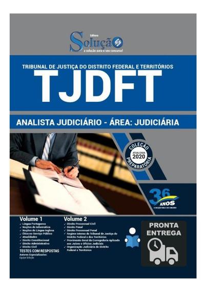 Apostila Tjdft Analista Judiciário Área Judiciária Livro