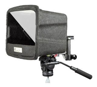 Teleprompter Prompter P/ Tablet 10 Pulgadas Con Accesorios