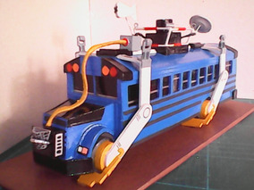 Maqueta Fortnite Battle Bus