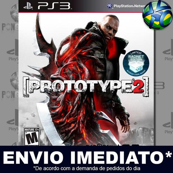 Prototype 2 Gold Edition Ps3 Psn Jogo Promoção Pronta Entreg