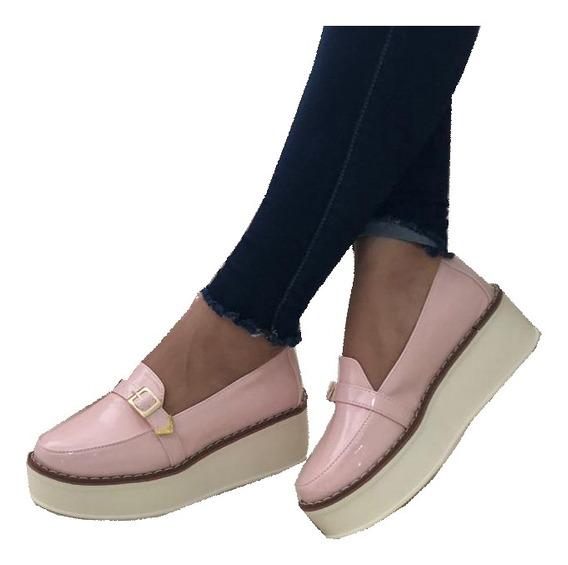 Zapatos Mujer Bello Modelo Estilo Mocasín