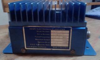 Amplificador 2 Mts Radio Afisionado Mod.henrry Electronics