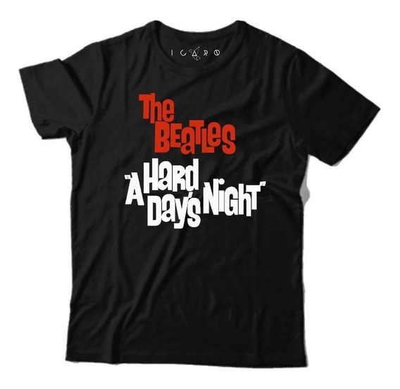 Remera The Beatles A Hard Days Night - 100% Algodón Palermo