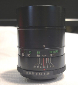Lente 135mm F 1:2.8 Vivitar M42