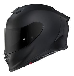 Casco Para Moto Scorpion Exo R1 Negro Mate Pista Calle