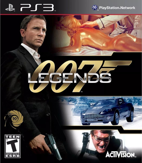 007 Legends Ps3 Mídia Física Lacrado Novo Disco Blu-ray