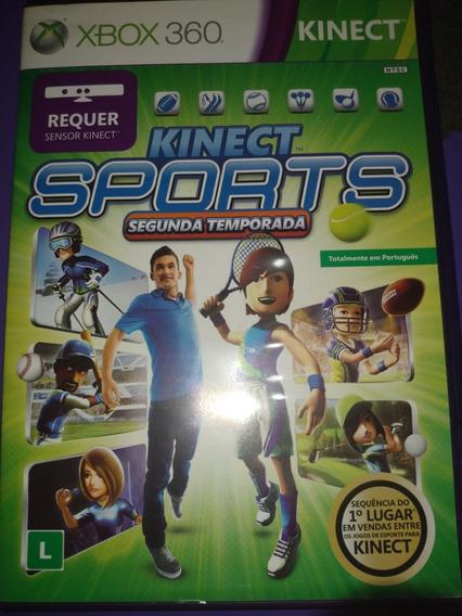 Kinect Sports Xbox 360 Segunda Temporada Midia Física