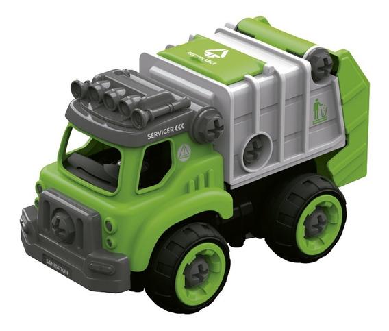 Diy Camion De Limpieza Para Armar Con Herramienta 27 Piezas