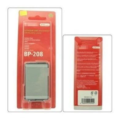 Bateria Bp208 P Canon Dc210 Dc211 Dc22 Dc220 Dc230 Dc40 Dc50