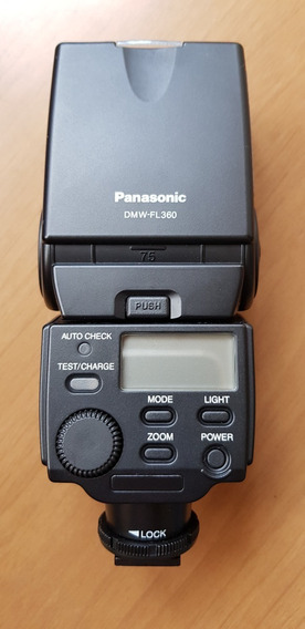Flash Panasonic Lumix Dmw-fl360 - Super Zerado