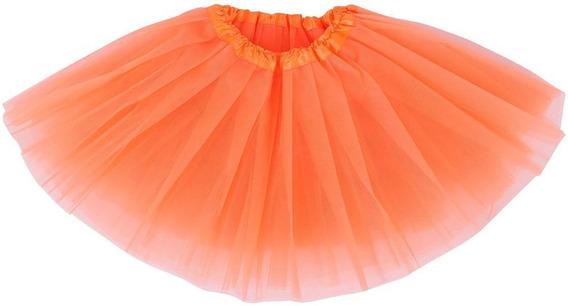 Girl/2-8years - Orange - Princess Tutu Falda Ballet Fie-0245