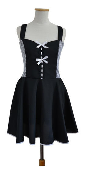 Vestido Gothic Lolita Kawaii Alternativo Dark Gótico