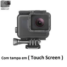Caixa Estanque Gopro 5 Com Tela Touch Sem Remover O Anel
