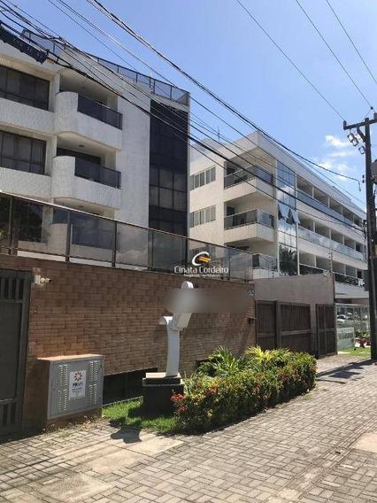 Apartamento Com 1 Dormitório À Venda, 37 M² Por R$ 265.000 - Cabo Branco - João Pessoa/pb - Ap2452