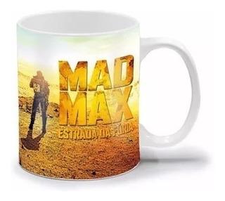 Caneca Mad Max - Estrada Da Fúria - 300ml - Porcelana