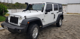 Jeep Wrangler, 2014, 4 Portas Em Estado De Novo.