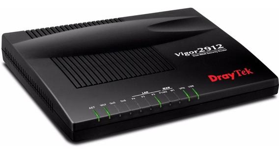 Router Draytek Vigor Dual Wan 2912 Vpn Firewall 4g Balancea
