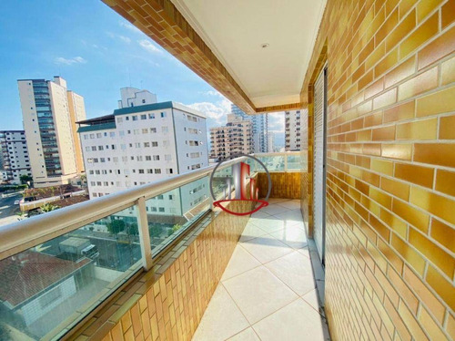 Imagem 1 de 15 de Excelente Apartamento 2 Domitórios Sendo 1 Suite Novo Em Praia Grande - Ap2631