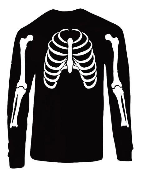 Playera Esqueleto Día De Muertos (hallowen)