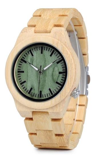 Reloj De Bambú Bobo Bird Totalmente Nuevo