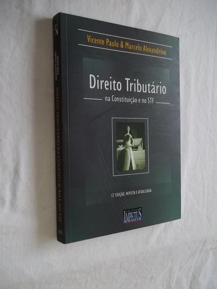 Livro - Direito Tributario - Vicente Paulo - 12 Ediçao