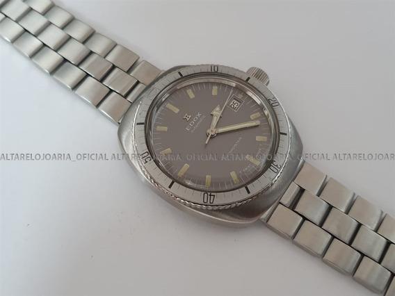 Relógio Masculino Edox Hydrostar Vintage Swiss Made