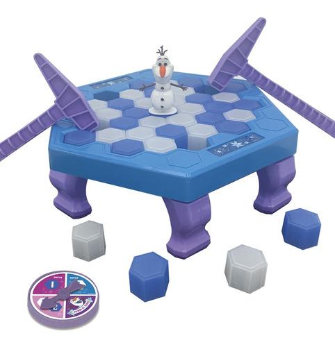 Imagen 1 de 8 de Juego De Mesa Frozen Que No Se Caiga Olaf Ditoys