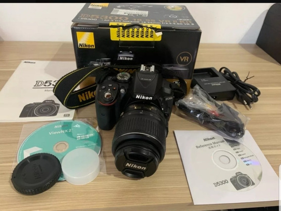Câmera Nikon D5300 + Lente 18-55