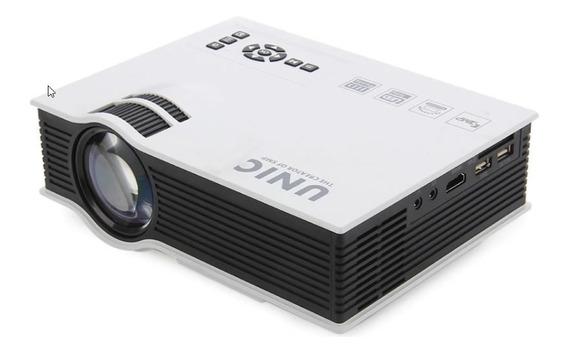 Mini Projetor Uc40+, Pronta Entrega Tela 120 Polegadas .