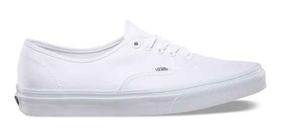 Zapatilla Vans Authentic Blanca 100% Original Envío Gratis