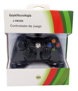 Control Xbox 360 Y Pc Windows Gamepad Alambrico Usb