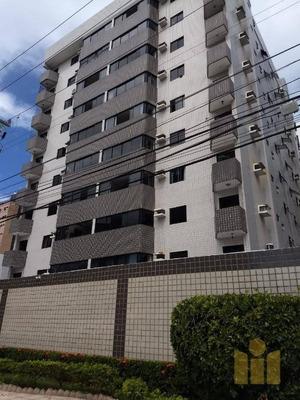 Apartamento Com 3 Dormitórios À Venda, 103 M² Por R$ 380.000 - Ponta Verde - Maceió/al - Ap0471
